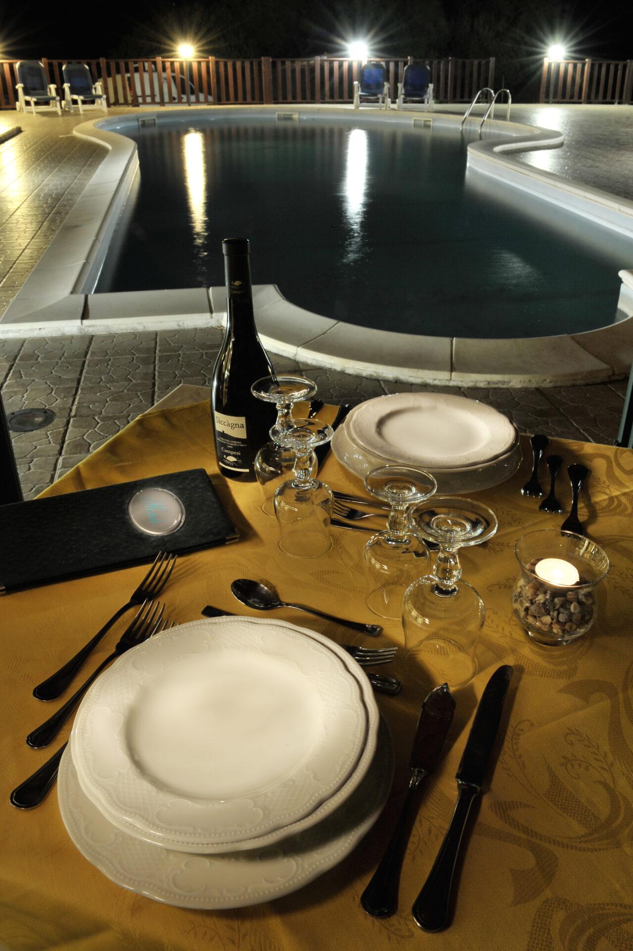 Hotel Santa Maria - Cena piscina